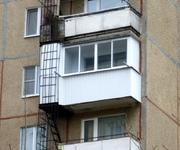 Остекление балконов с внешней отделкой ( дома 80-й серии) во.