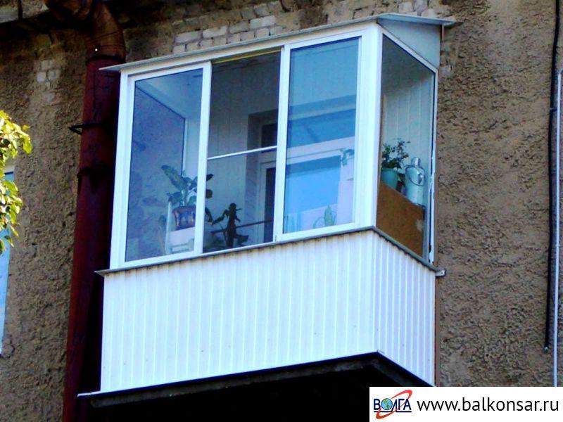 Остекление балконов в сталинках волга ооо волга - производст.
