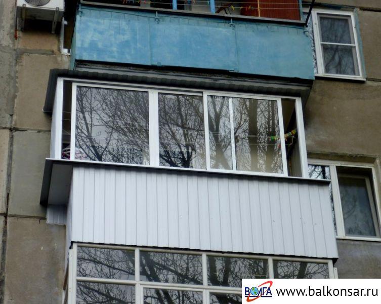 Алюминиевые балконы с выносом волга ооо волга - производстве.