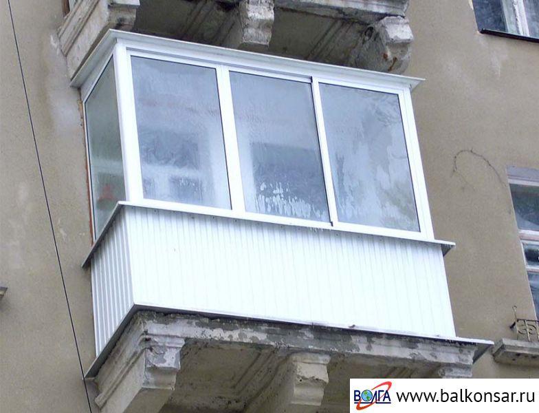 """Балконы в домах """"сталинского"""" типа волга ооо волга - произво."""